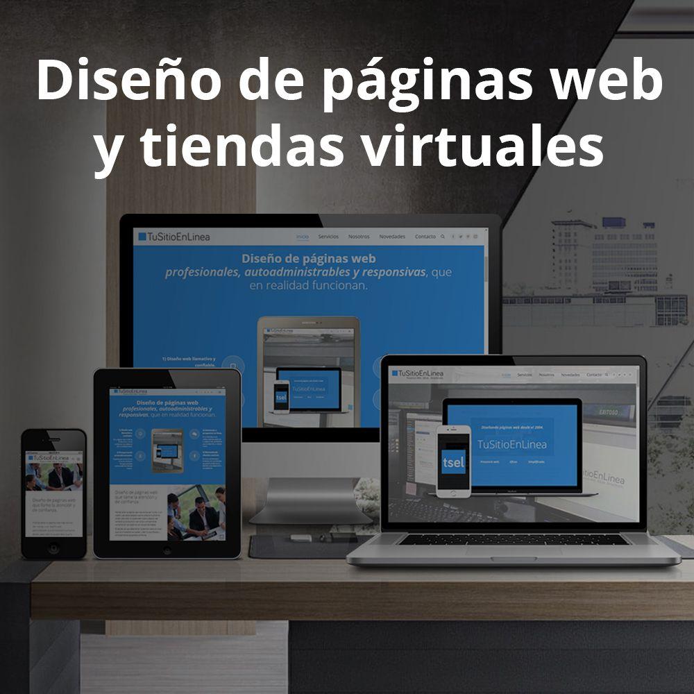 Diseno de páginas web y tiendas virtuales - TuSitioEnLinea